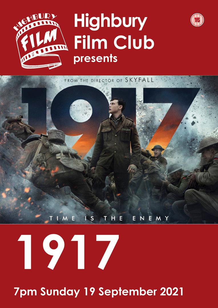1917 film poster