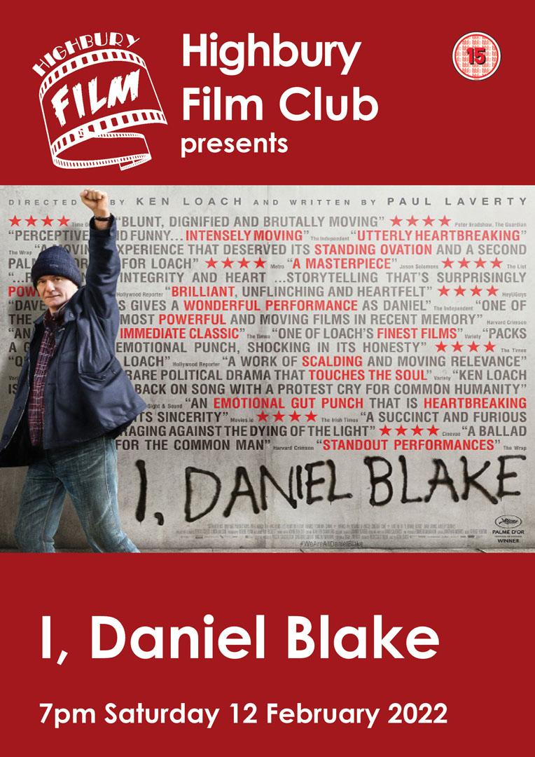 I Daniel Blake film poster