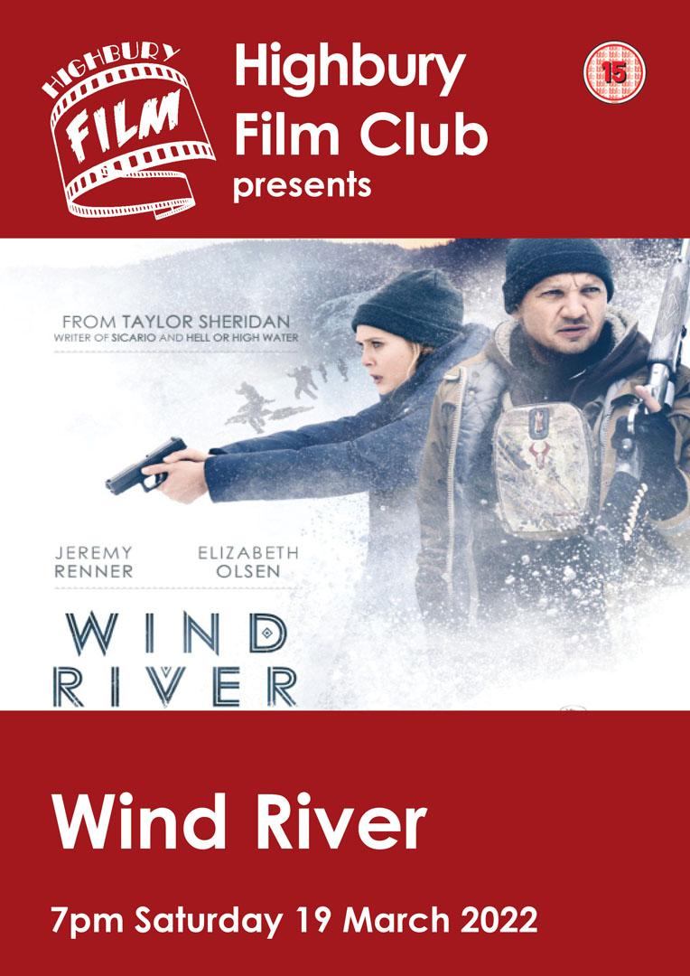 Wind River film poster