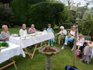 Highbury theatre social committee day out photograph