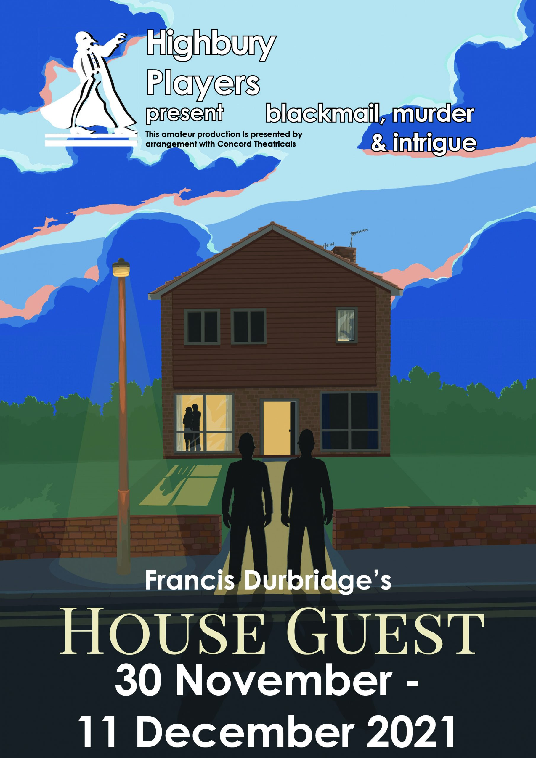 House Guest play poster