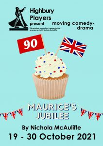 Maurice's Jubilee play poster