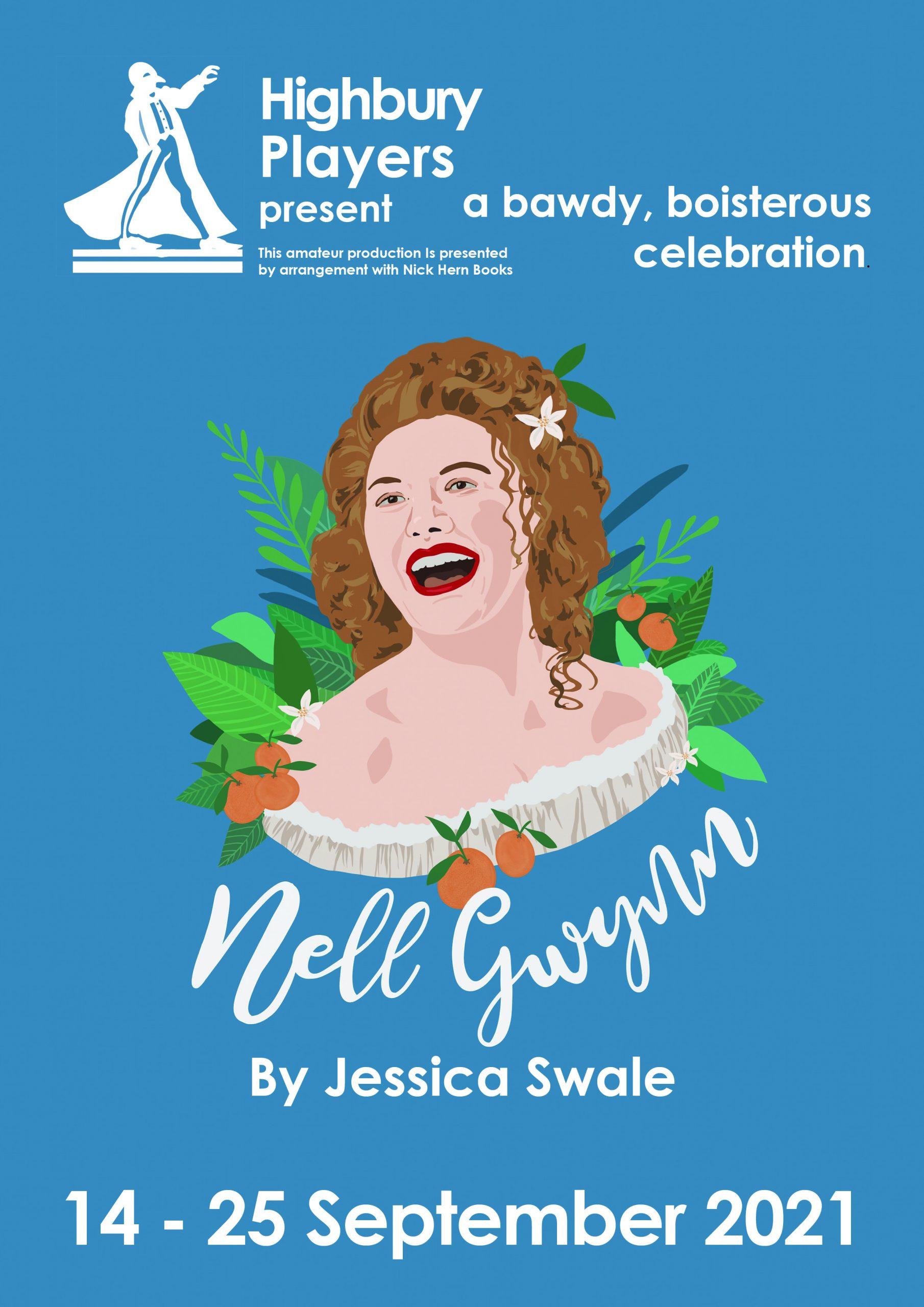 Nell Gwynn play poster